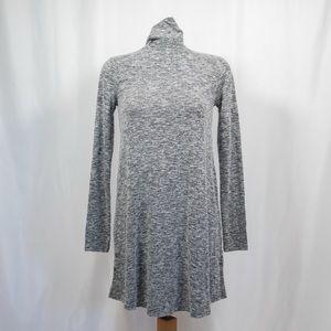 Forever 21 Heather Gray Turtleneck Dress